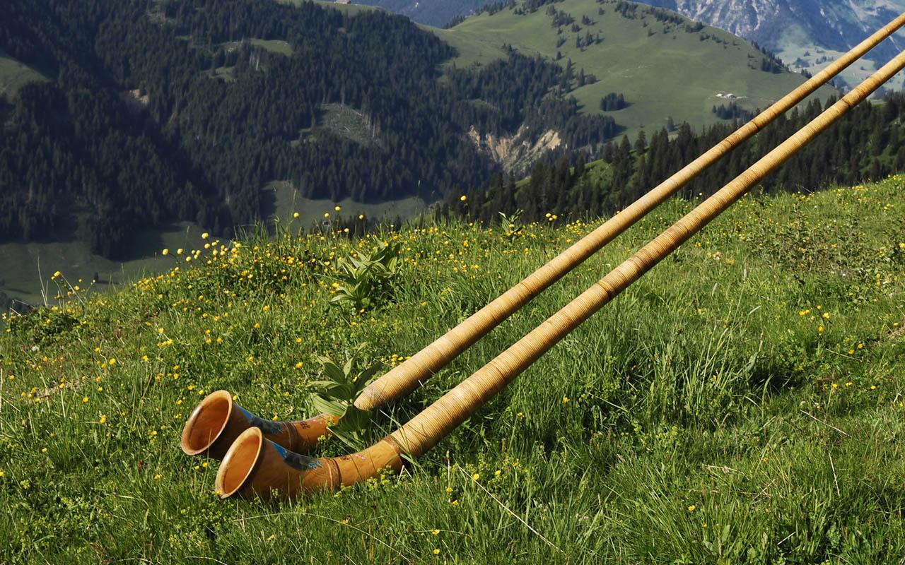 Alphorn Gstaad